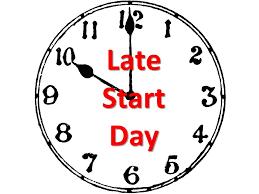 Wednesday, September 15, 2021- Late Start