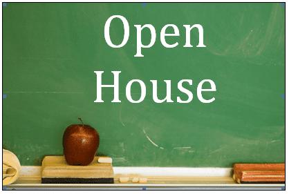 Maples Open House- Thursday, September 9, 2021