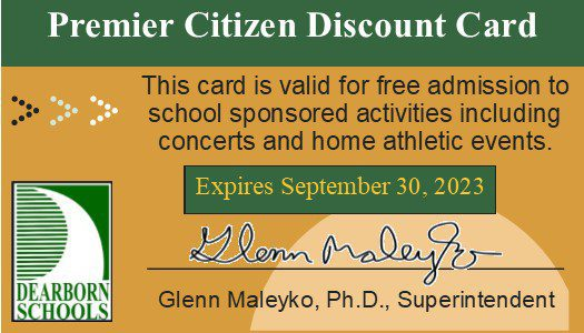 District welcomes senior citizens to events with Premiere Citizens cards