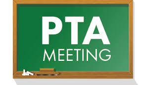PTA Meeting- Tuesday, October 12, 2021